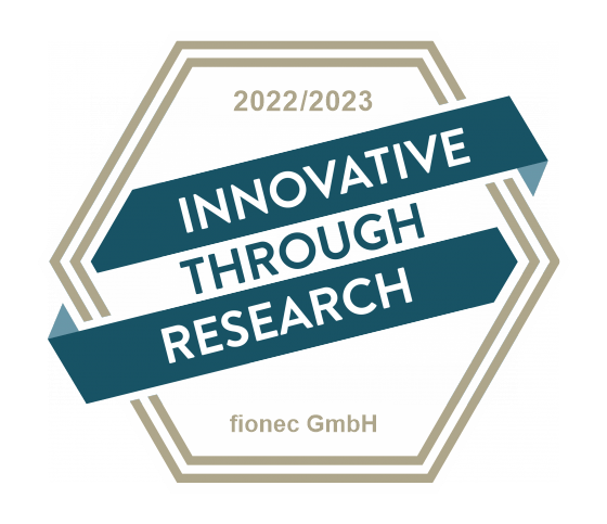 "Logo ""Innovative through research"" by the Association for the Promotion of Science and Humanities in Germany"