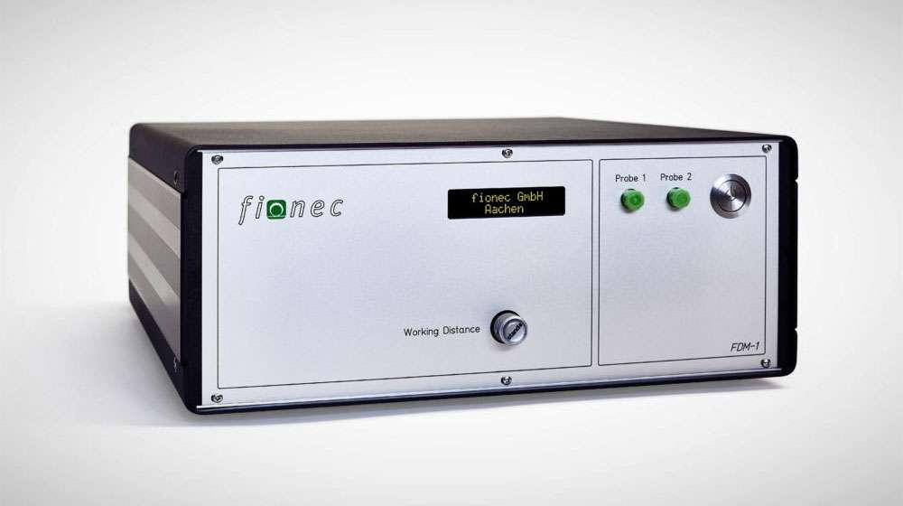 Fiber-optic distance measuring system FDM-1 by fionec