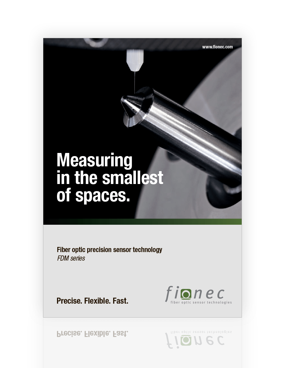 Product brochure fiber-optic distance measuring systems